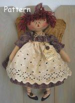 Free Primitive Raggedy Ann Doll Patterns