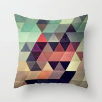 Cushion Cover / Throw Pillow - geometric abstract digital ...