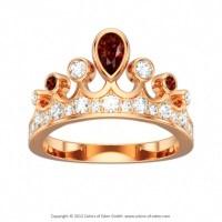 Rose Gold Ring: Rose Gold Ring Tiara
