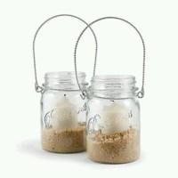 Mason jar candle holder   Crafts   Pinterest