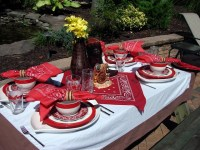 Table Setting Ideas #Cowboy #Western | Cowboy & Cowgirl ...