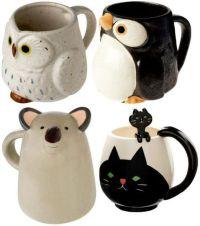 Animal Tea Cups | Mugs / Cups / Tacitas / Pocillos ...