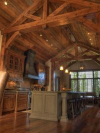 Exposed beam ceiling | For the Home | Pinterest