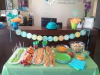 Finding Nemo office baby shower | Party ideas | Pinterest