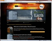 Furnaces: Earth Outdoor Wood Furnaces