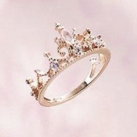 Princess crown ring.. want. need. | gorgeousness | Pinterest