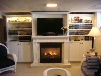 Wall unit with fireplace | Home | Pinterest