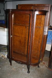 Beautiful Curio Cabinet Antique | Redeemed Furnishings ...