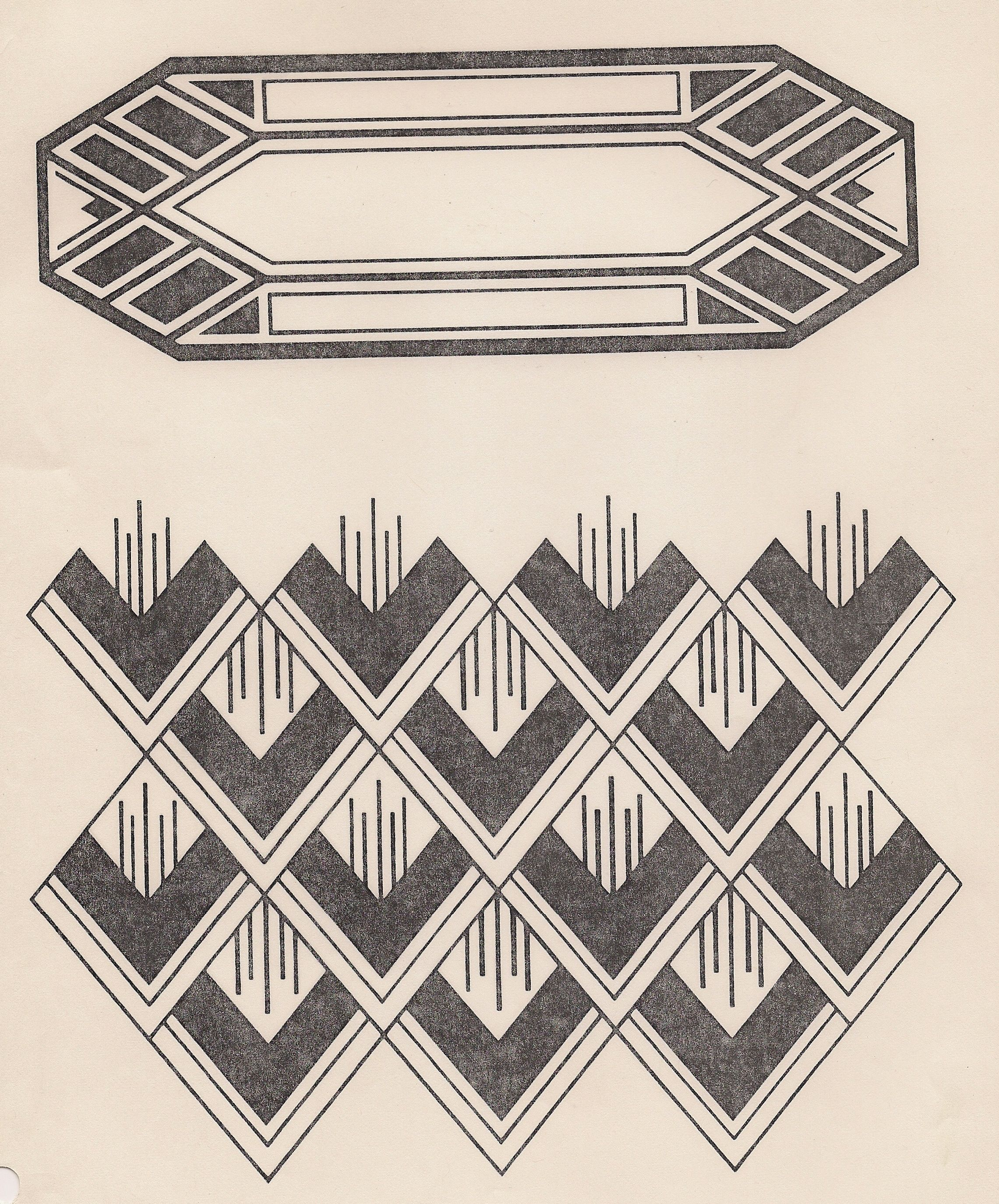Designer Deko Art Deco Design Design Motifs And Patterns Pinterest
