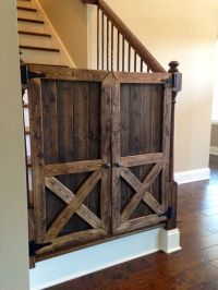 Barn Door Baby Gate | Car Interior Design