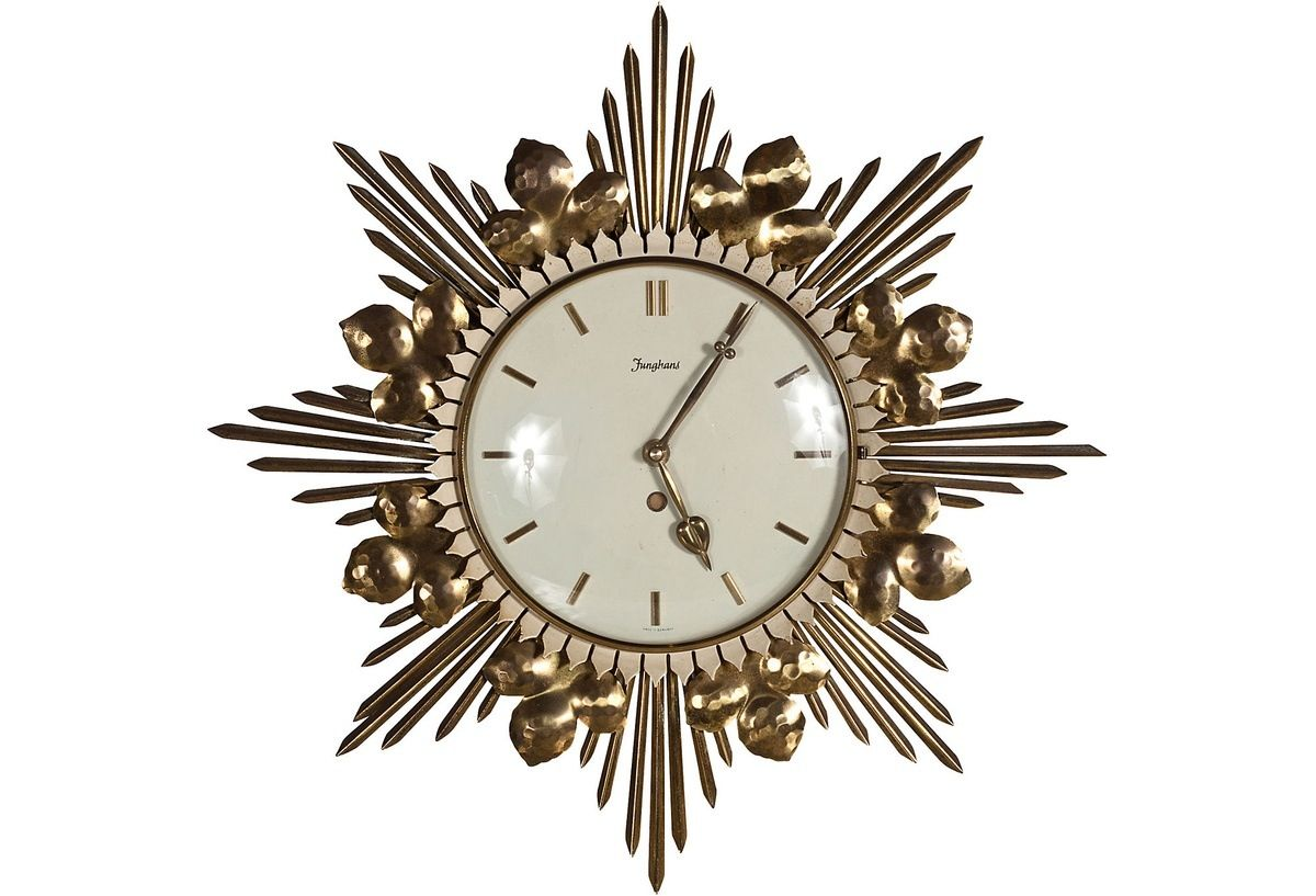 Wall Art Clocks Wall Clock Art Deco Pinterest