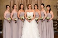 Taupe Bridesmaid Dresses | All Dress
