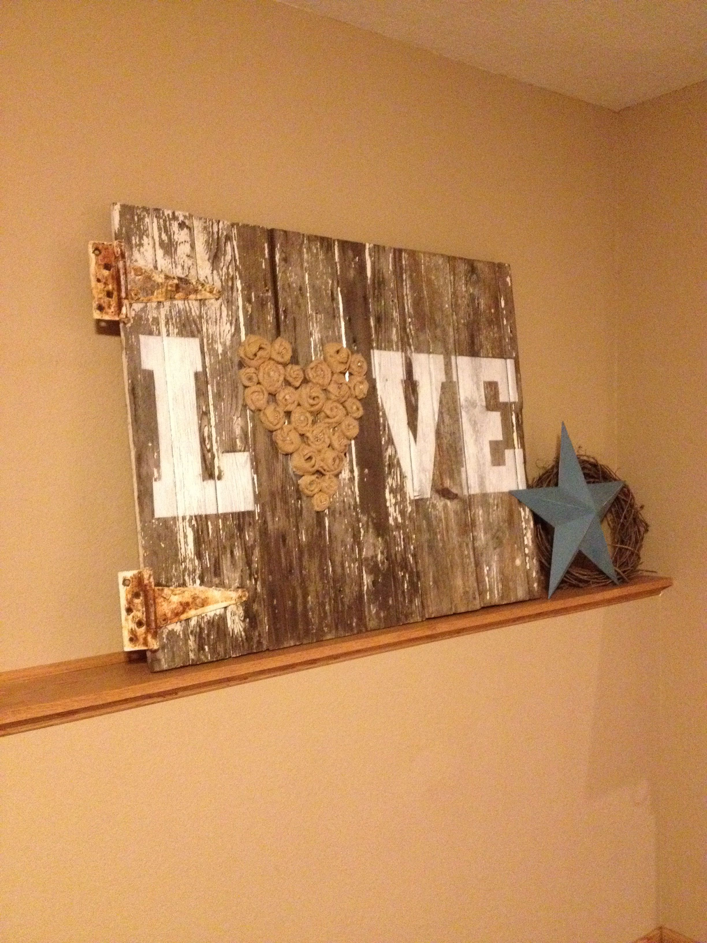 Barn Wood Art Ideas Barn Wood Decor Decorating Ideas And Improvements