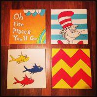 Dr Seuss Wall art decor | Nursery | Pinterest