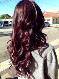 Burgundy Hair Color Hair Pinterest Of Burgundy Hair Color ...