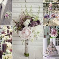 Dusty Purple Wedding