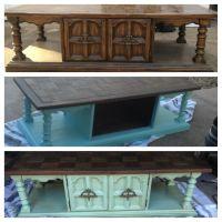 Repurposed Coffee table | Craft Ideas | Pinterest