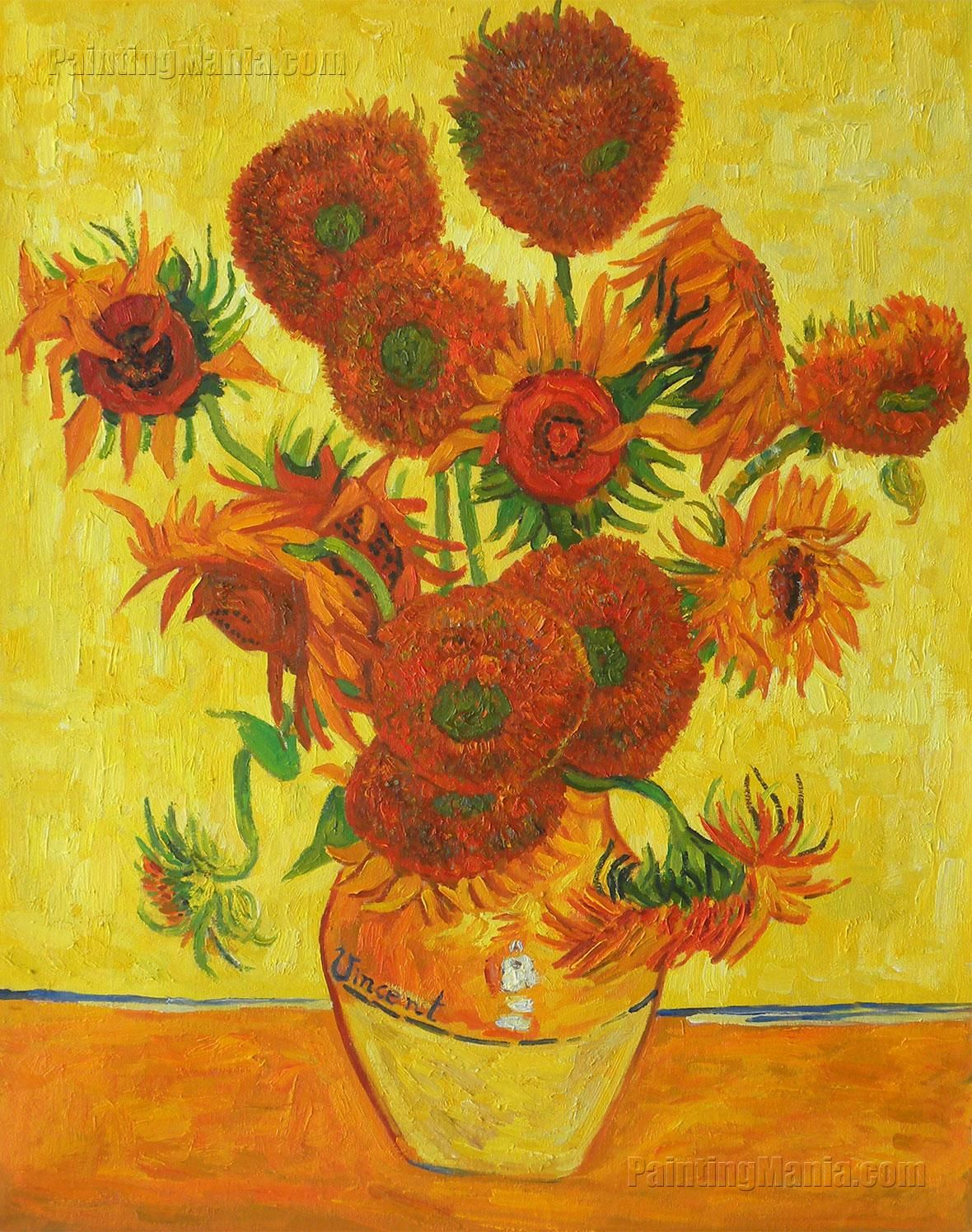 Vincent Van Gogh Paintings Sunflowers Quotsunflowers Quot By Vincent Van Gogh Art Pinterest