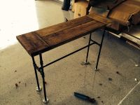 Plumbing Pipe Console Table | Projects | Pinterest