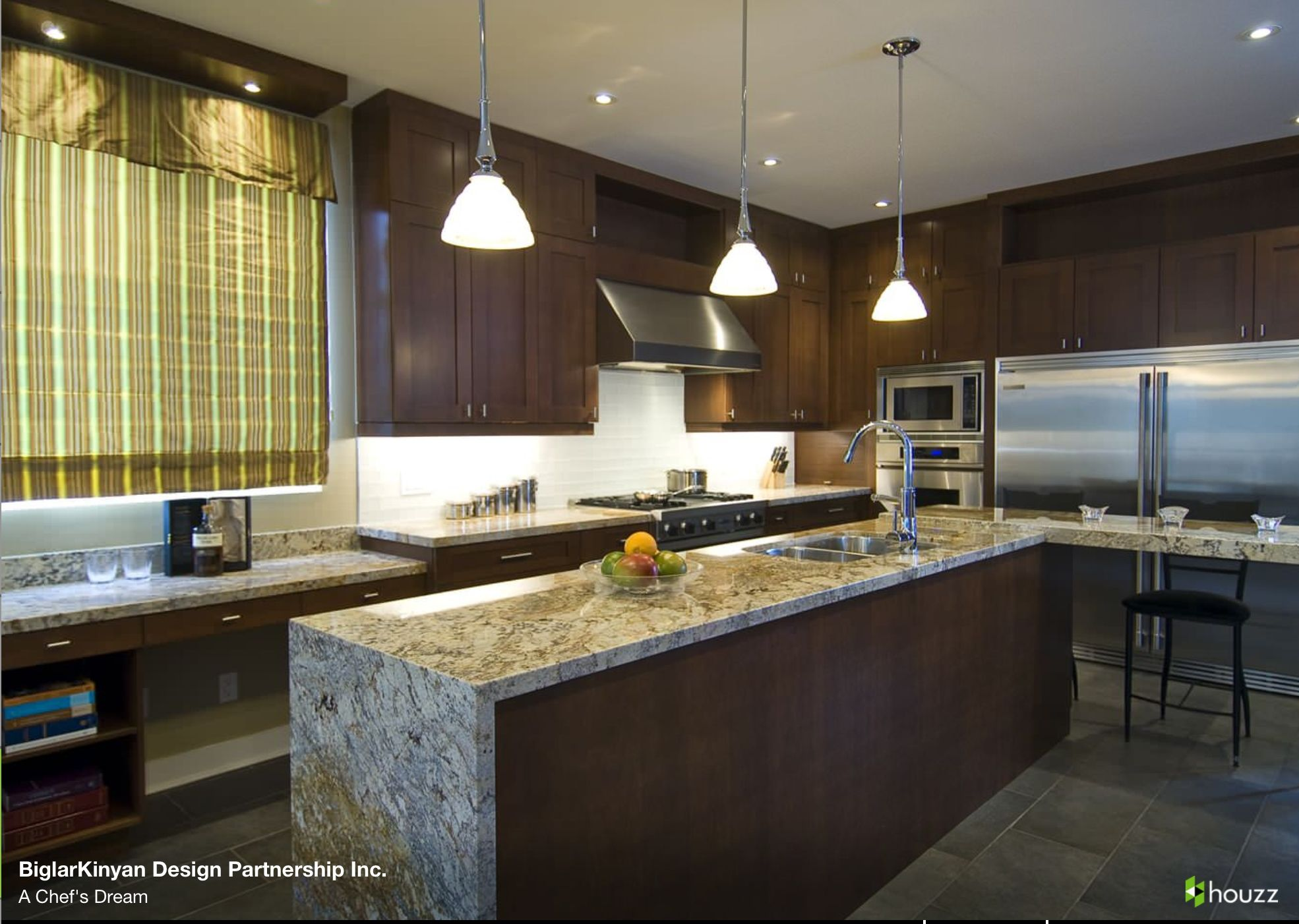 How To Clean Slate Countertops Waterfall Granite Kitchens Pinterest