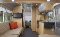 Eddie Bauer Airstream - interior view | Travel trailers ...