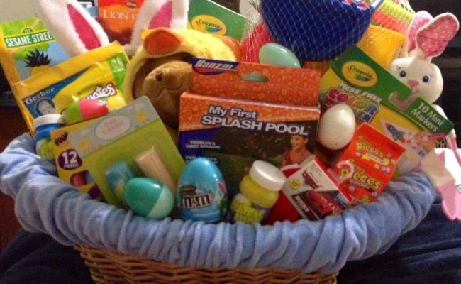 One Year Old Easter Basket Idea Things For Emma Pinterest