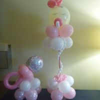 baby shower balloon ideas | Bewildering Ballooning | Pinterest