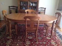 Dining room set. Craigslist find....$200 | French Tudor ...