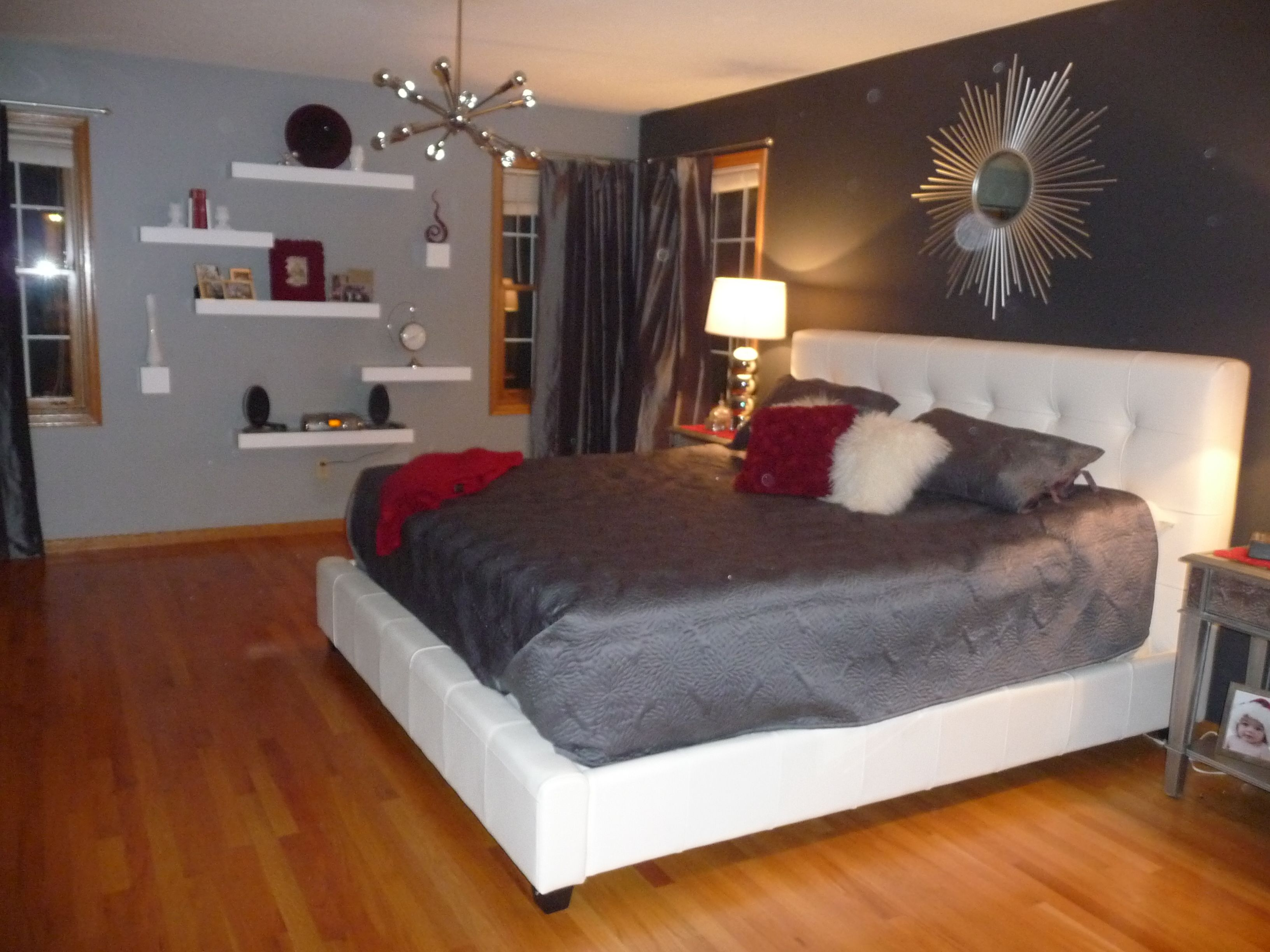 Bedroom Decorations Pinterest Another View Of Our Master Bedroom Decorating Ideas