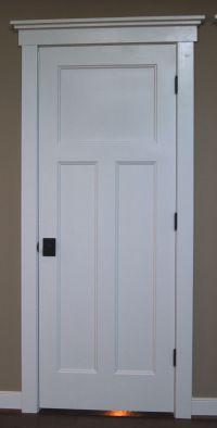 Craftsman style interior doors | Home Remodeling | Pinterest