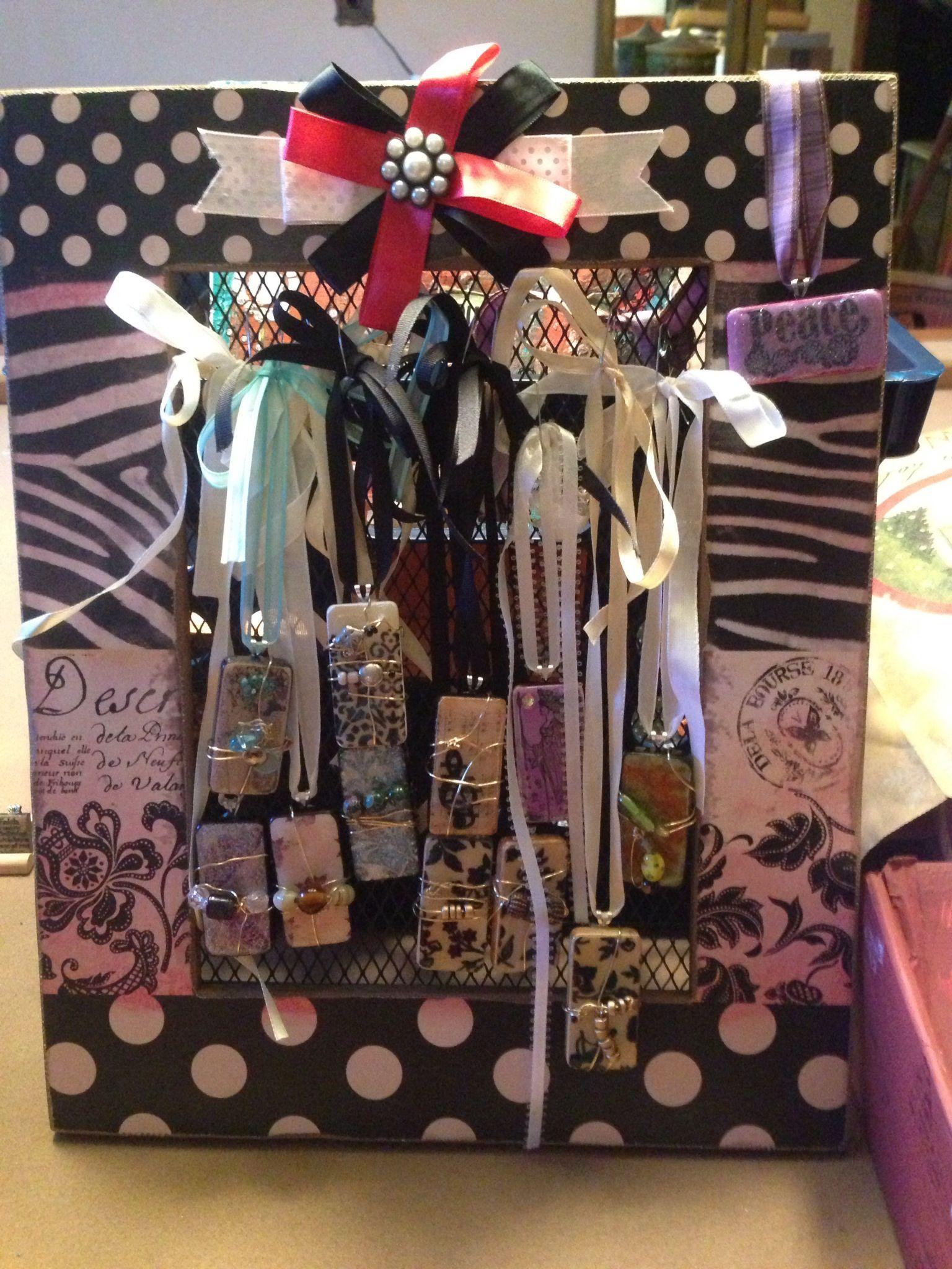 Craft Show Jewelry Display
