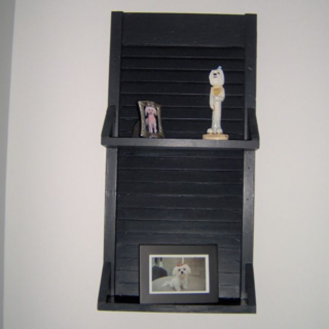 repurposed bifold doors