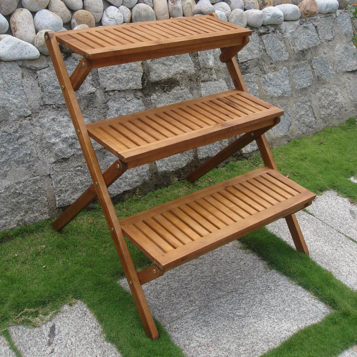Tiered Plant Holders 3 Tiered Wooden Plant Stand Plants And Other Things