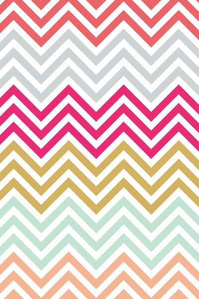 Colorful chevron iphone wallpaper | iPhone wallpaper | Pinterest