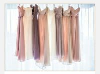 Neutral Bridesmaid Dresses | Bridesmaids | Pinterest