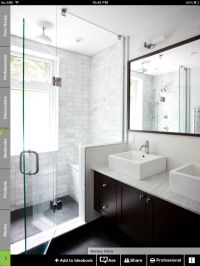White bathroom | Decorating ideas | Pinterest
