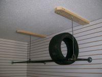 Tire rack   Scott dream garage   Pinterest