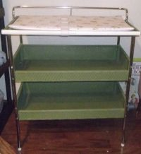 70's baby changing table | ~Vintage Baby~ | Pinterest