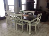Refinished Kitchen Table | Wood | Pinterest