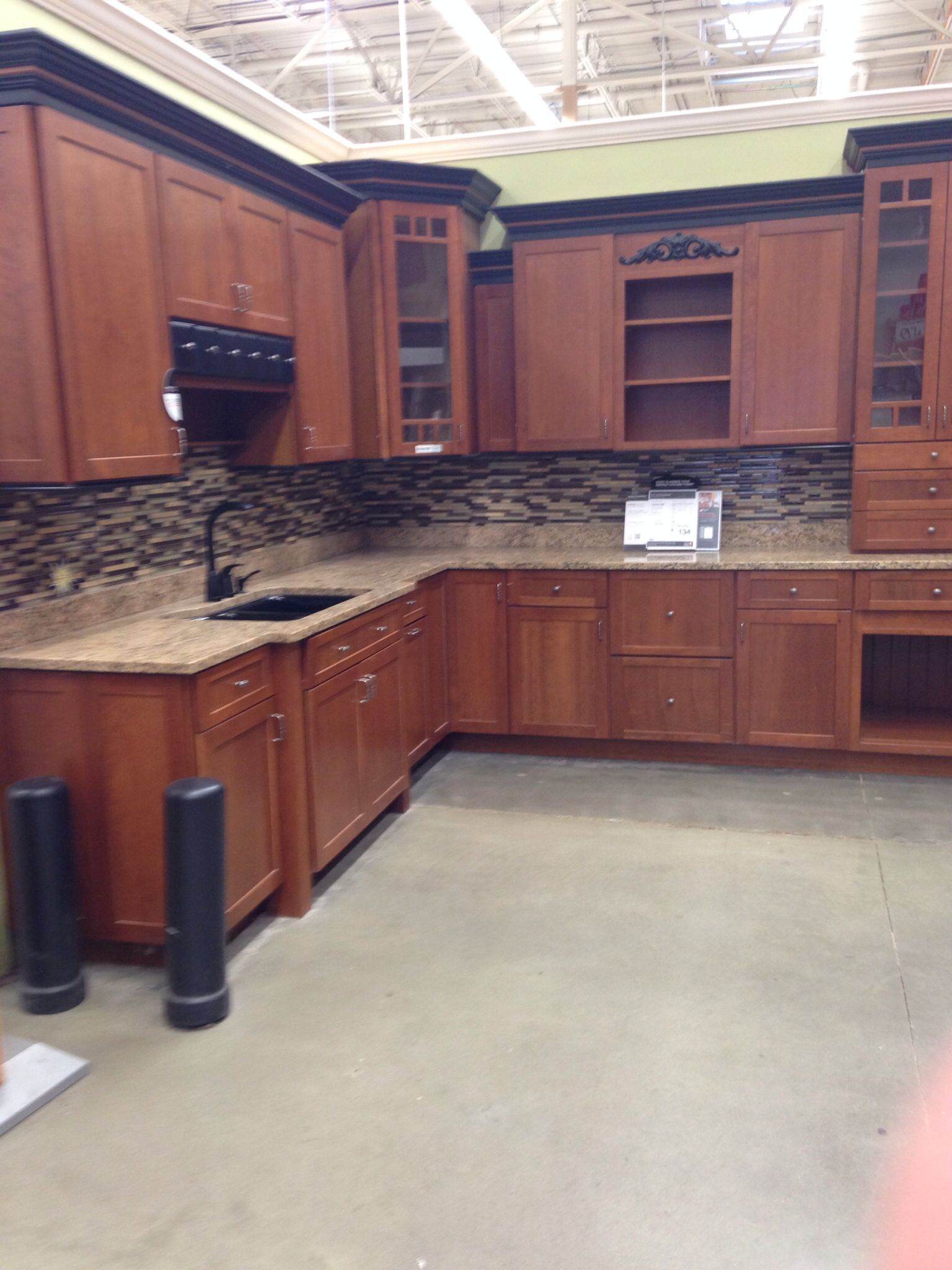 perfect kitchen cabinets at Home Depot
