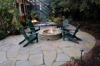Fire pit from Winterberry Gardens | Outdoor Ideas | Pinterest