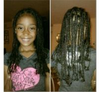 Youth Natural Hair Box Braids | Zoe hair styles? | Pinterest