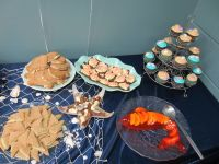 under the sea baby shower party food | Blount baby | Pinterest