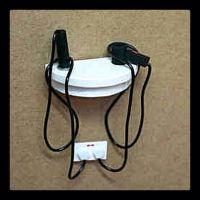 Hair Dryer & Curling Iron Holder | Miniatures | Pinterest