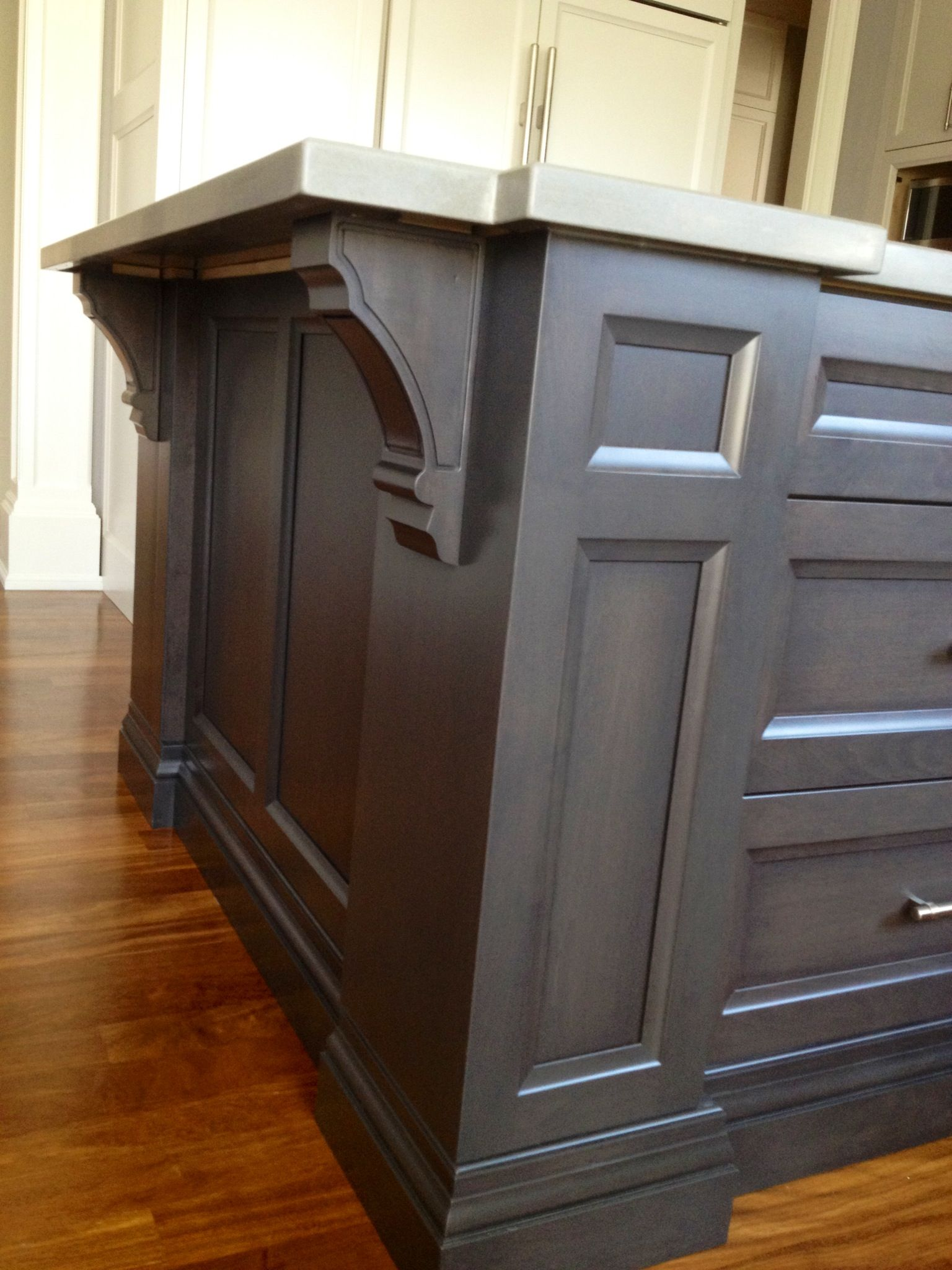 Dark Grey Kitchen Cabinet Pin By Simple Redesign Furniture Refinishing And Painted