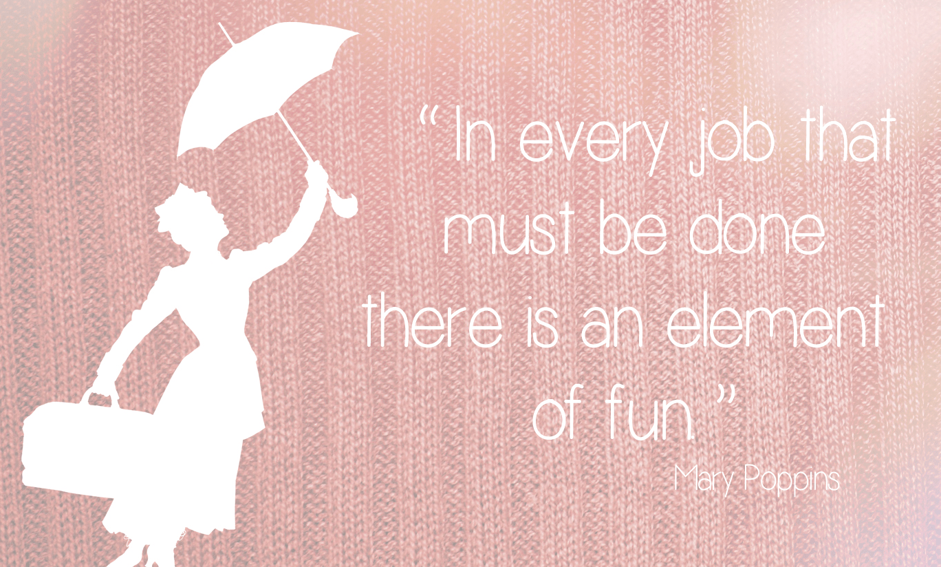 Pink Fall Quote Wallpaper Mary Poppins Quotes About Work Quotesgram