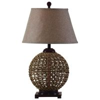 Bali Hai Woven Rattan Table Lamp | Indonesia | Pinterest