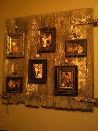 Old barn door wall art | wall ideas | Pinterest