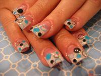 bubble nail art design bubbles nail art pinterest