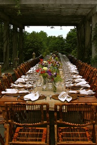 Farmtable banquet
